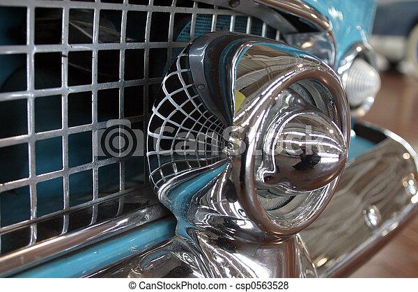 anticaglia, Automobile, griglia - csp0563528