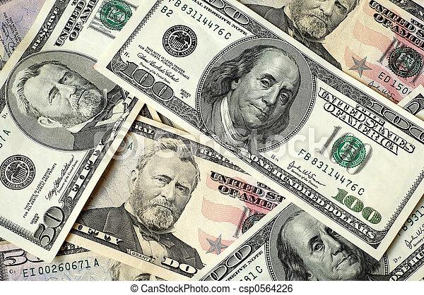 US dollars - csp0564226