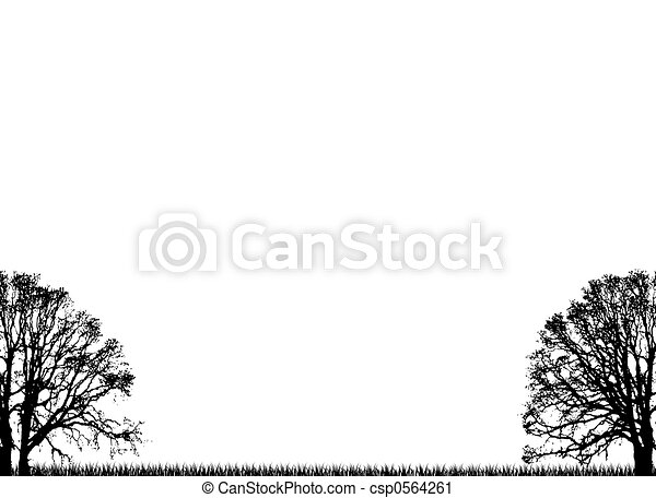 plain trees - csp0564261