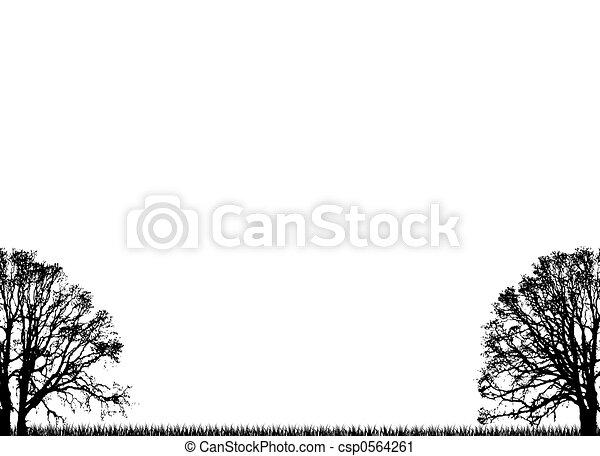 plain trees - csp0564261