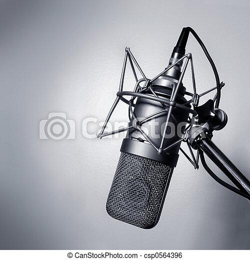 Studio microphone - csp0564396