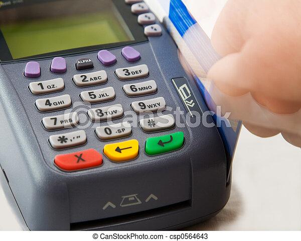 Credit card terminal - csp0564643