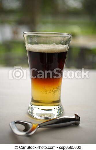 Black and Tan Beer - csp0565002