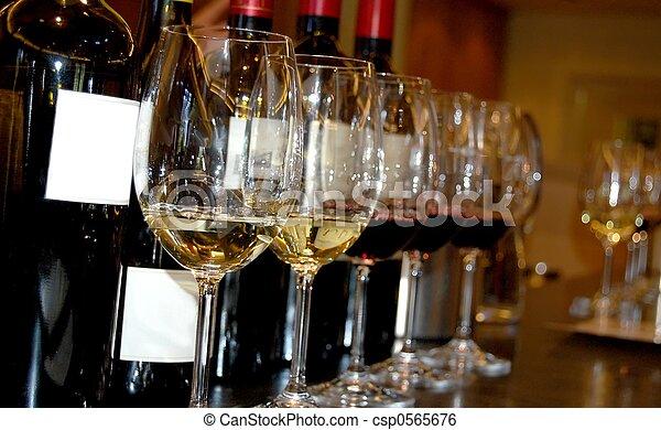 Wine tasting - csp0565676