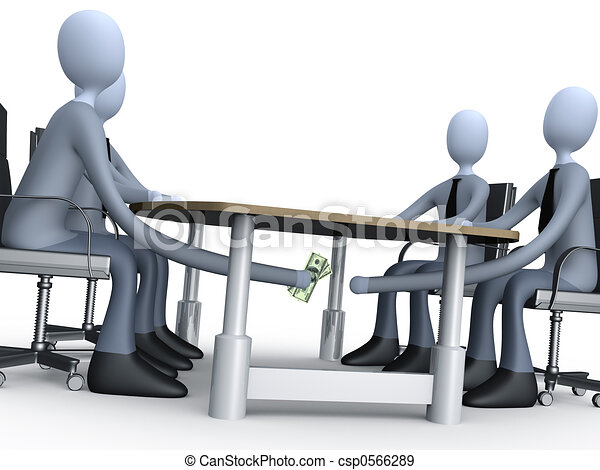 Deal Under The Table - csp0566289
