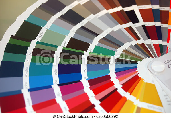 colour chart - csp0566292