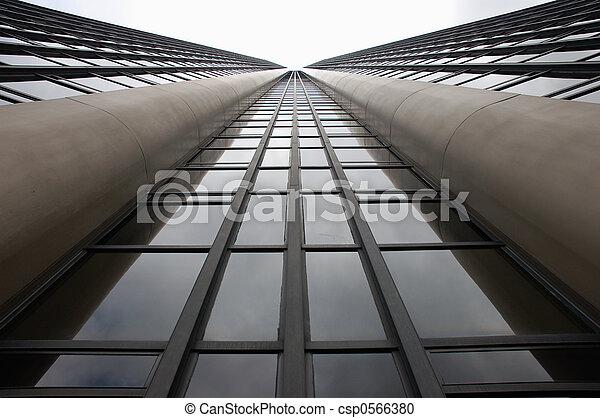 Skyscraper Facade - csp0566380