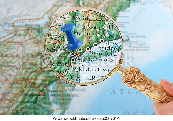 Nowy Jork Mapa Nowy York Mapa Hals