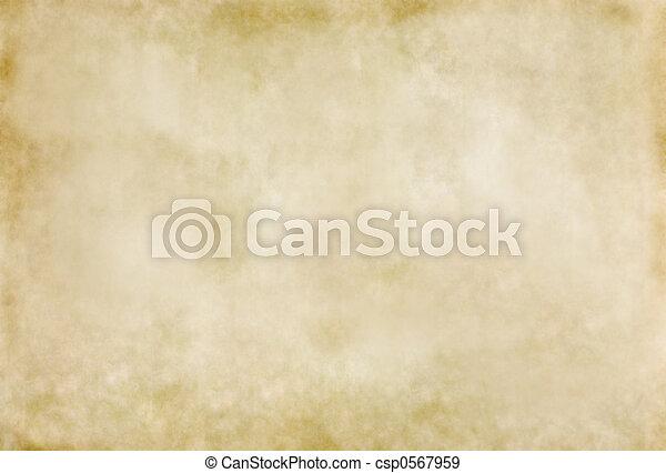 Aged or Antique Paper - csp0567959