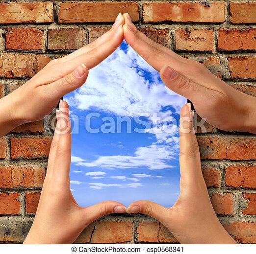 Symbol home - csp0568341
