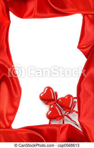 Valentines Day Frame - csp0568613