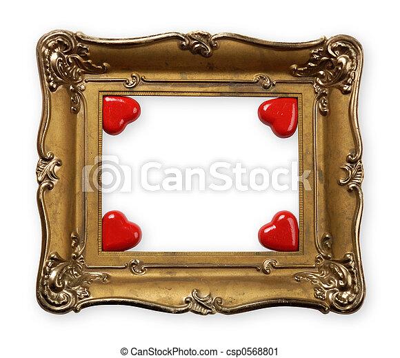Valentines Day Frame - csp0568801