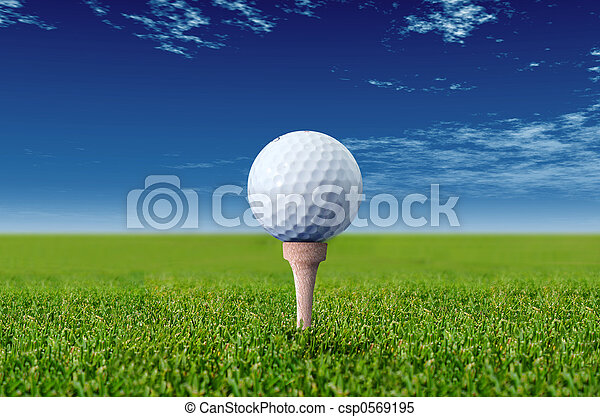 golf ball - csp0569195