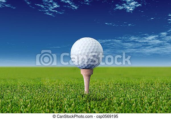 golf ball - csp0569195
