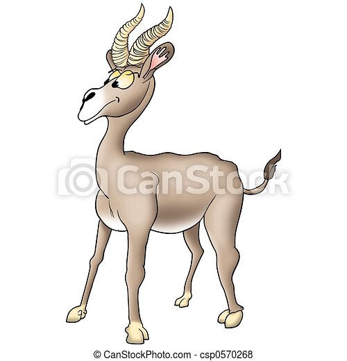 Humorous antelope - csp0570268
