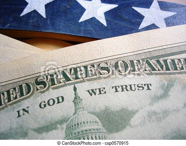 In God We Trust - csp0570915
