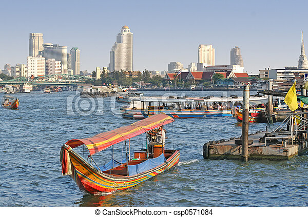 Bangkok River - csp0571084