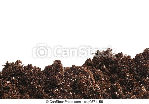 garden dirt - csp0571156