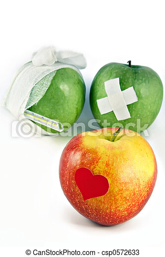 Concept of public health services and healthy way of life - csp0572633
