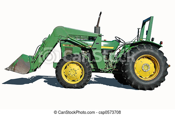 Tractor with Bucket - csp0573708