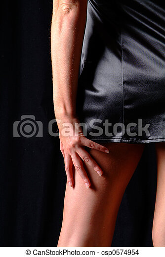 women on back - csp0574954