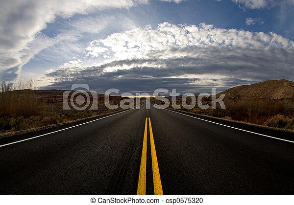 journey into dusk - csp0575320