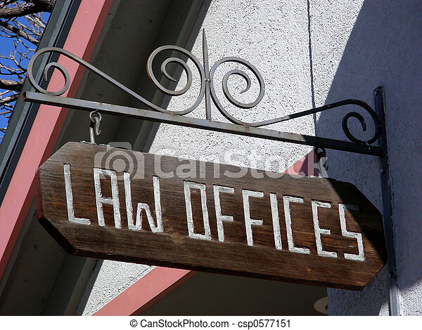 Its the Law - csp0577151