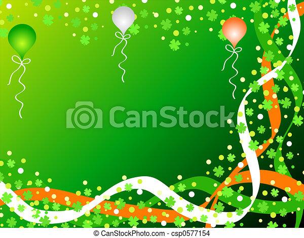 Irish celebration - csp0577154
