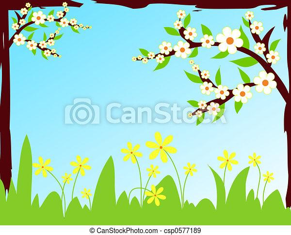 Spring morning - csp0577189