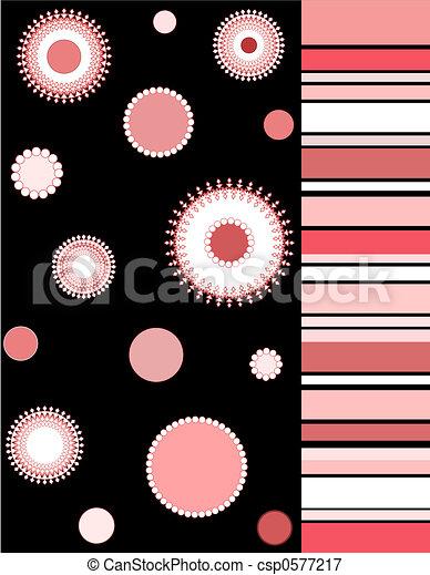 Floral pattern - csp0577217