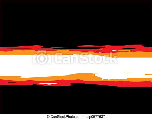 urban fire - csp0577637