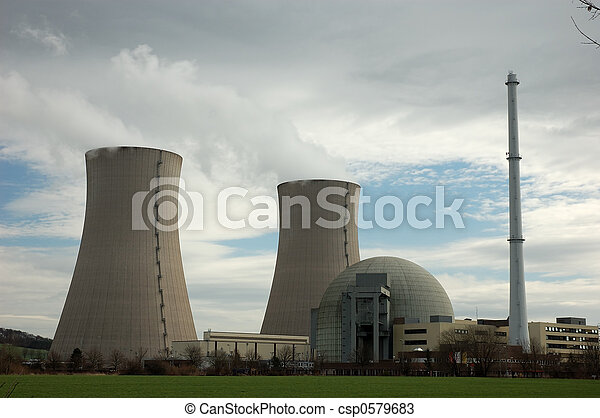 nuclear power plant - csp0579683