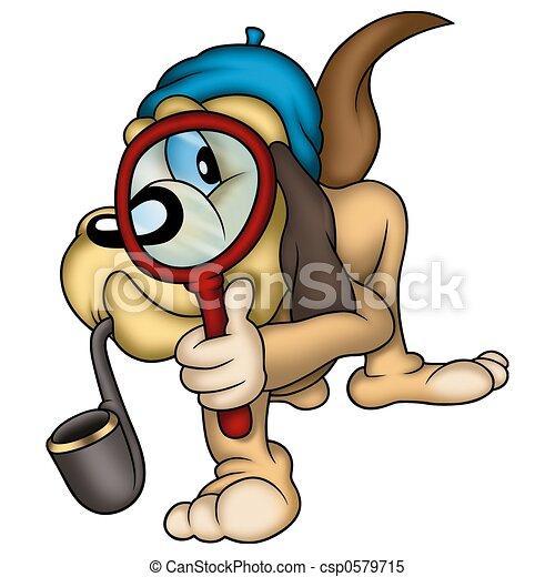 Dog detective - csp0579715