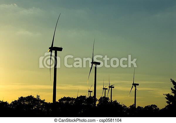 Wind turbines - csp0581104