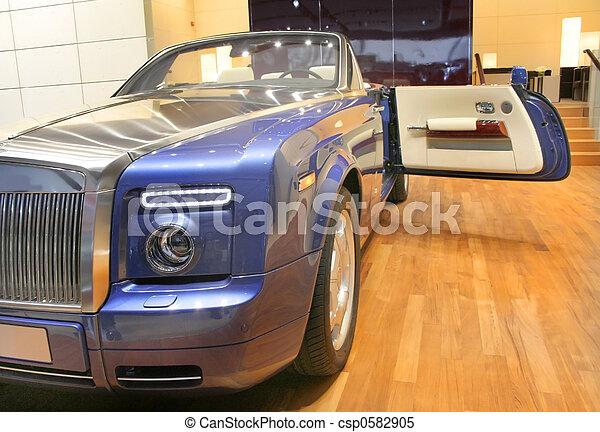luxury convertible - csp0582905