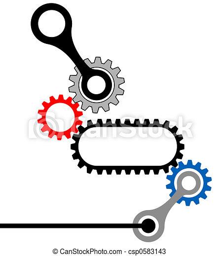 GearBox-Mechanical Industrial Complex - csp0583143