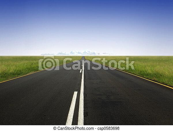 hit the road - csp0583698