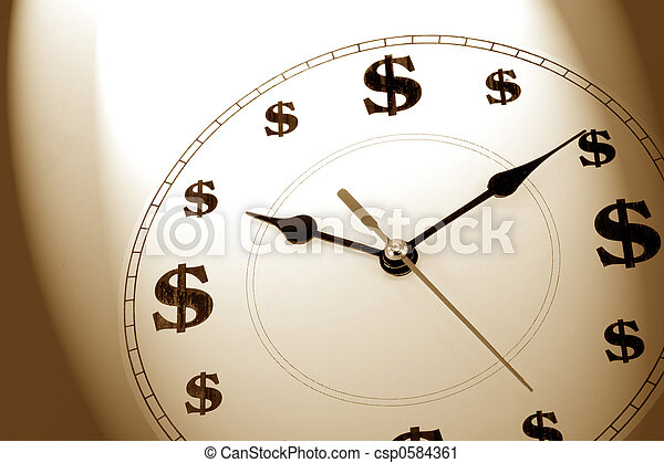time is money - csp0584361