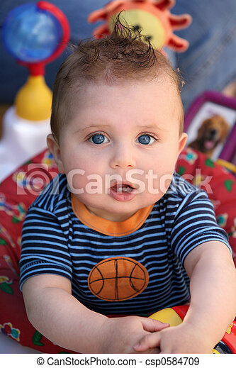 Funny baby - csp0584709