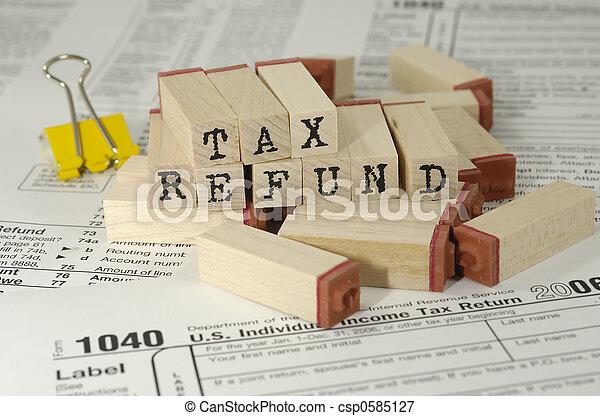 Tax Refund - csp0585127