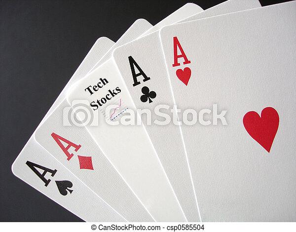 Gambling on Tech Stocks  - csp0585504