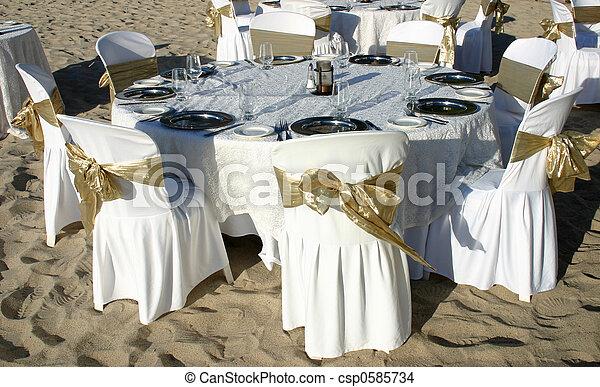 Wedding table - csp0585734