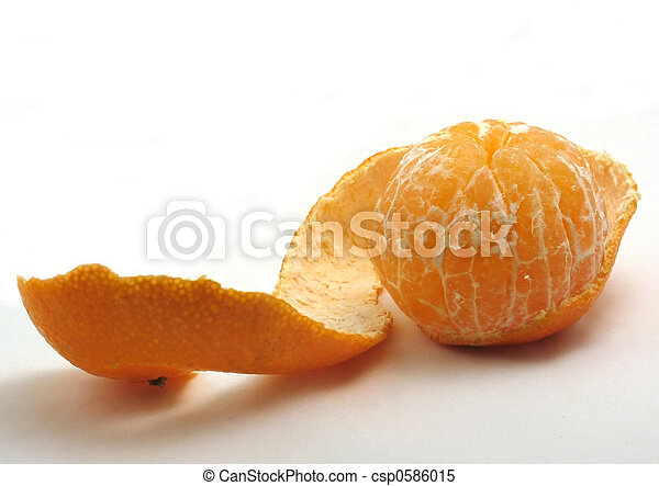 Clementine with long peel - csp0586015