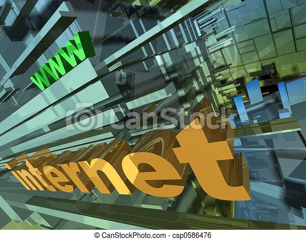 Internet Design - csp0586476