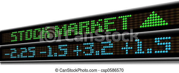 Stock Market ticker - csp0586570