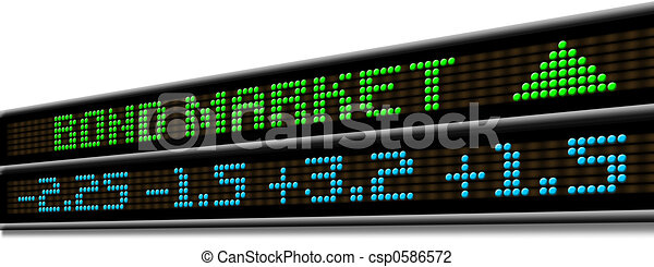 Stock Market ticker - csp0586572