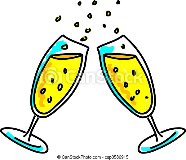Clip Art Cheers Clipart cheers clipart and stock illustrations 15295 vector eps two champagne glasses making a celebratory toast