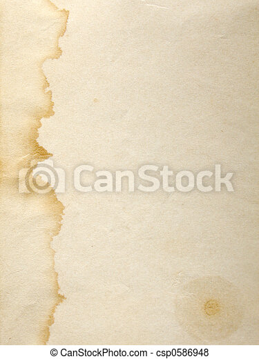 Stained paper - csp0586948