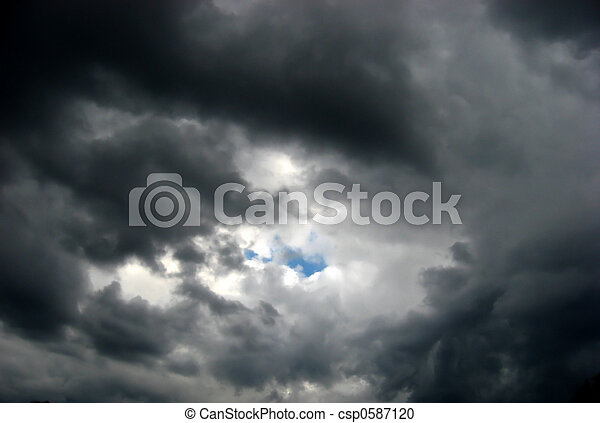 Storm Clouds Brewing - csp0587120