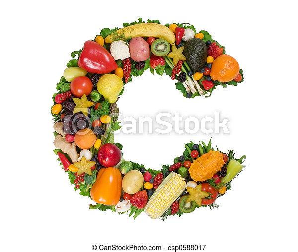 Alphabet of Health - csp0588017